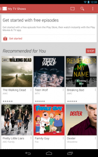 Google Play Movies & TV Resimleri