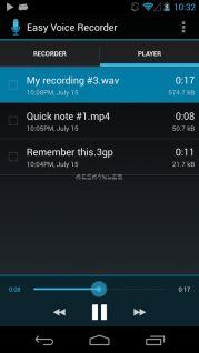 Easy Voice Recorder Resimleri