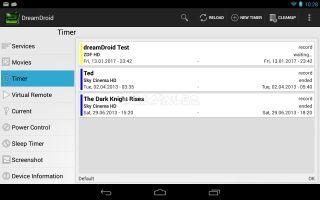 dreamDroid (beta) Resimleri