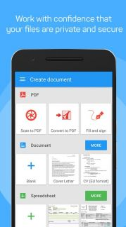OfficeSuite Viewer 6 Resimleri