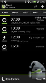 Sleep as Android Resimleri