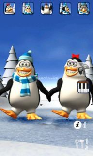 Talking Pengu & Penga Penguin Resimleri