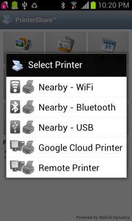 PrinterShare Mobile Print Resimleri
