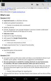 OpenOffice Document Reader Resimleri
