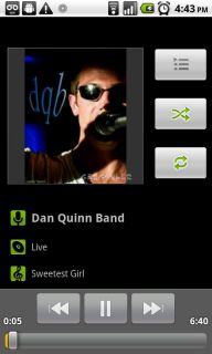 Android Music Player Resimleri