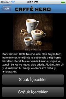 Caffe Nero Turkey Resimleri