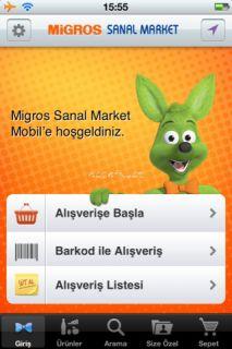 Migros Sanal Market Resimleri