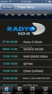 Radyo D for iPhone Resimleri