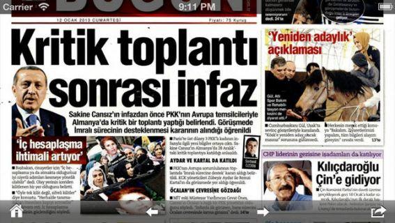 Gazete Manşetleri Resimleri