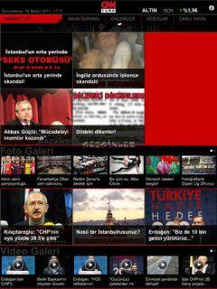 CNN Türk iPad Uygulaması Resimleri