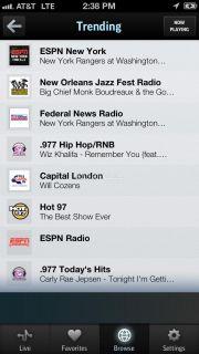 TuneIn Radio Resimleri