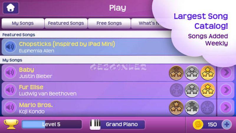 how to play magic piano ipad