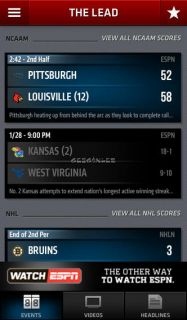 ESPN ScoreCenter Resimleri