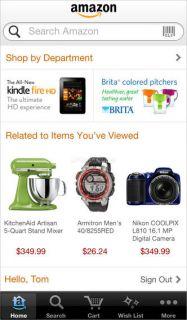 Amazon Mobile Resimleri