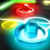 iPhone ve iPad Glow Hockey 2 FREE Resim