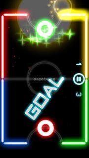 Glow Hockey 2 FREE Resimleri
