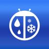 iPhone ve iPad WeatherBug Resim