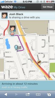 Waze social GPS traffic & gas Resimleri