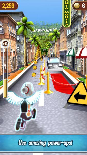 iPhone ve iPad için Angry Gran Run Ekran Görüntüleri