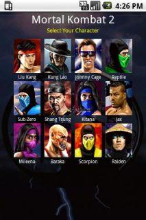 Mortal Kombat Moves 2.2.1 (Android)
