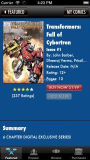 Transformers Comics Resimleri