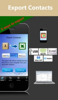 Contacts<->Excel Lite Resimleri