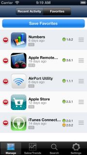 iTunes Connect Mobile Resimleri