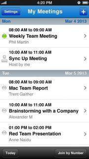 Cisco WebEx Meetings Resimleri
