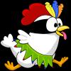 Android Ninja Chicken Ooga Booga Resim