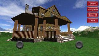 3D Houses Free Resimleri