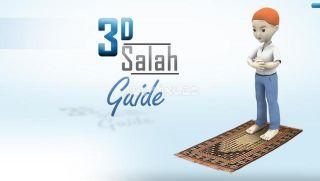 3D Salah Guide Resimleri