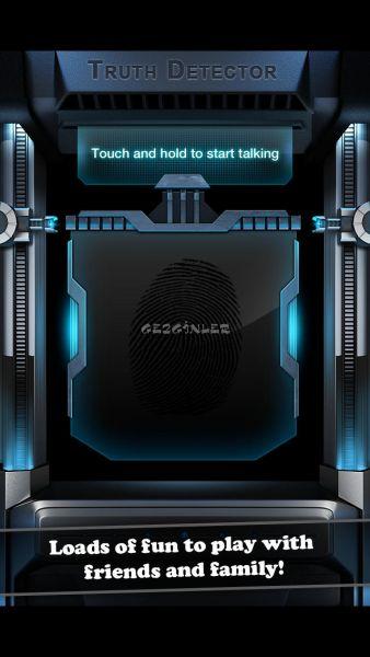 iPhone ve iPad için Yalan Makinesi - Poligraf Ekran Görüntüleri