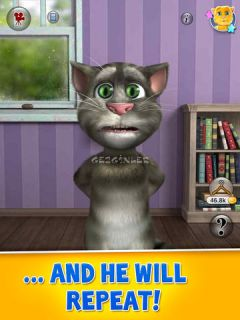Talking Tom Cat 2 for iPad Resimleri