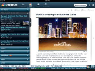 CNBC Real-Time for iPad Resimleri