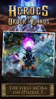 Heroes of Order & Chaos Resimleri