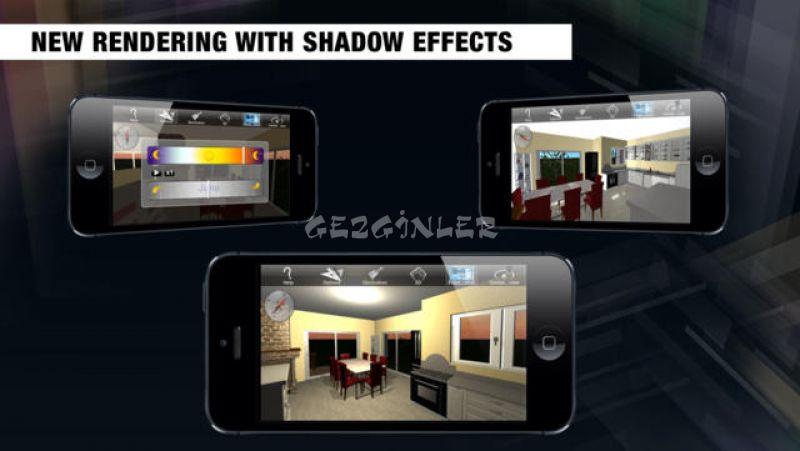 iphone ve ipad i in home design 3d freemium for ipad ekran