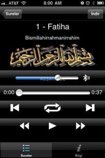 Kuran-ı Kerim'in Sesli Arapça - Türkçe Meali Resimleri