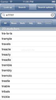 WordWeb Dictionary Resimleri