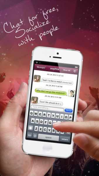 R dating app