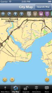 Istanbul Map and Walking Tours Resimleri