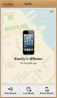 Find My iPhone Resimleri