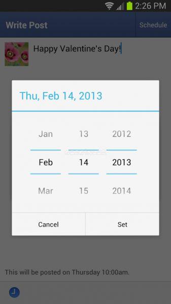 Android için Sayfa Yöneticisi Ekran Görüntüleri