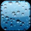 Android Yağmur Damlası canlı duvar Resim