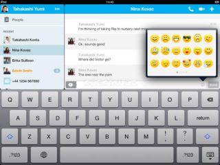 Skype for iPad Resimleri