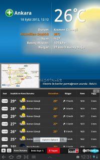 NTV Hava Tablet Resimleri