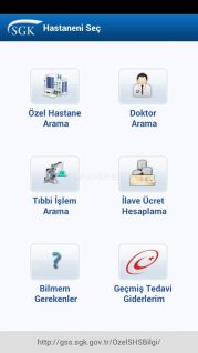 SGK Hastaneni Seç Resimleri