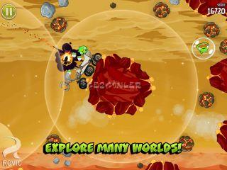 Angry Birds Space HD Resimleri