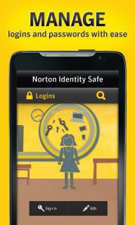 Norton Identity Safe password Resimleri