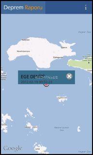 Deprem Raporu Resimleri