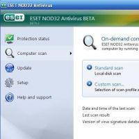 ESET NOD32 Antivirus screenshot